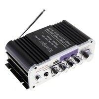 HY 803 DC12V 2CH HI FI Bluetooth Car Audio Power Amplifier FM Radio Player Support SD