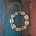 Kolye натуральный большой Concha Puka cowry ожерелье с раковинами женские ожерелья-Чокеры Колье готическое колье femme collares de moda 2019