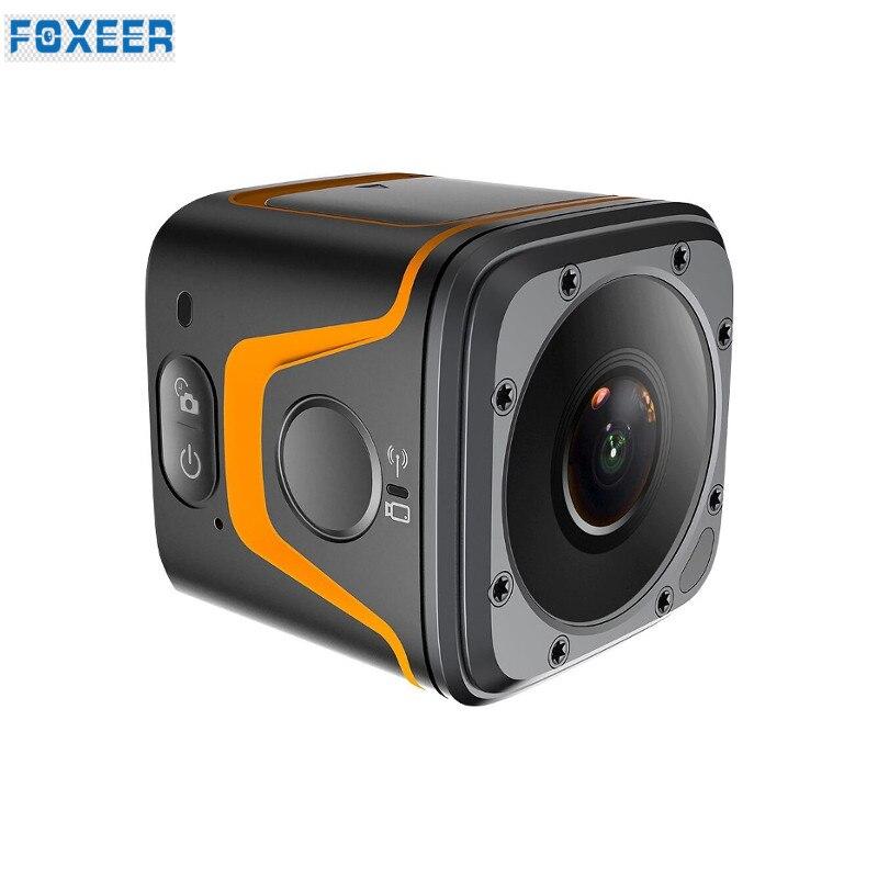 Foxeer коробка 4 К CMOS FOV 155 градусов Micro <font><b>Bluetooth</b></font>, Wi-Fi Камера мини FPV-системы Спортивные Action Cam для Радиоуправляемый Дрон Quadcopter в runcam 3