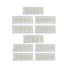 10 Pcsrobot Stofzuiger Hepa Filter Voor Seebest D750 D730 D720 Midea Mvcr01 Robotic Stofzuiger Filters Onderdelen Accesserios