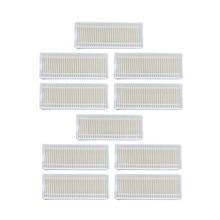 10 pcsRobot Vacuum Cleaner HEPA Filter for Seebest D750 D730 D720 midea mvcr01 Robotic Vacuum Cleaner Filters Parts Accesserios