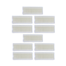 10 pcsRobot elektrikli süpürge HEPA filtresi için Seebest D750 D730 D720 midea mvcr01 robotik süpürge filtreleri parçaları Accesserios