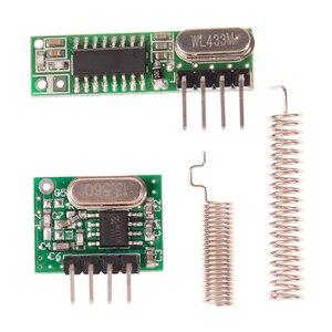 Image 4 - 1 adet 433 Mhz Süperheterodin RF alıcı ve Verici Modülü Arduino Için
