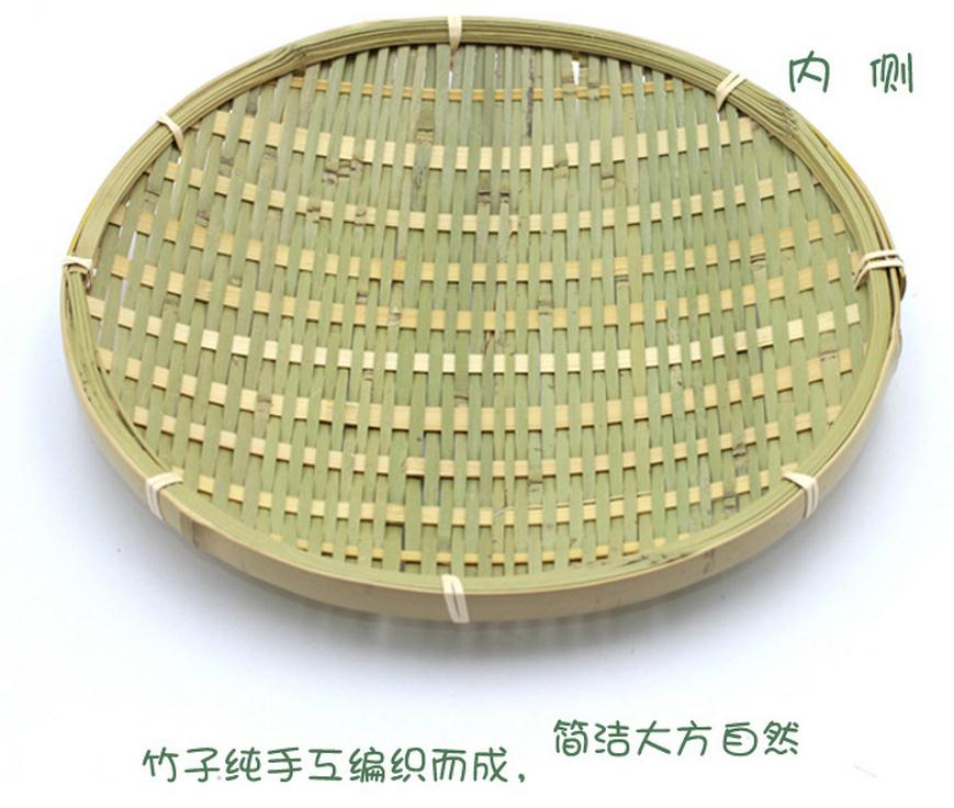 Wholesale 2 pc/lot Storage <font><b>Trays</b></font> Fruit bowl pastoral dish food dish <font><b>decorated</b></font> bamboo dish plaque bamboo <font><b>small</b></font> specialty dish 730