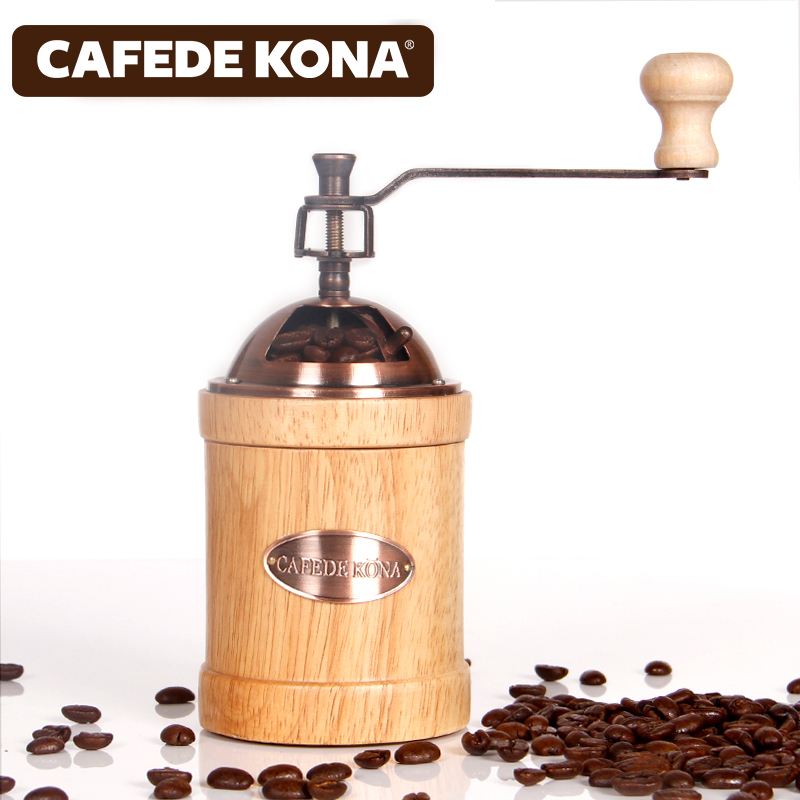 Hand - cranked coffee grinders manual retro retrofine grinder manual coffee grinder conical burr mill stainless steel portable hand burr grinders