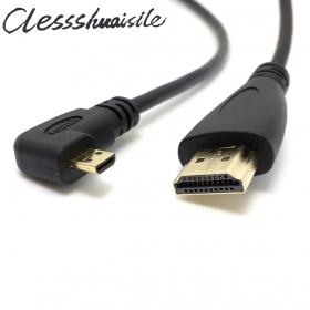 Golden Plated High Speed Micro HDMI Type D to HDMI Type A Male to Male Connector Cable//HD Video Cable for Motorola Droid X MB810