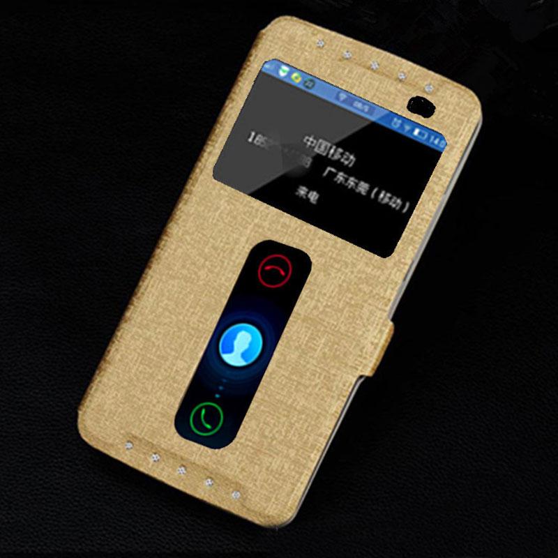 the best attitude cb88f 7f27d US $4.99 |For Lenovo K4 Note Case Lenovo A7010 Cover Dual Window View Flip  Case For Lenovo K4 Note Case Silk Pattern Leather Cover Fundas on ...