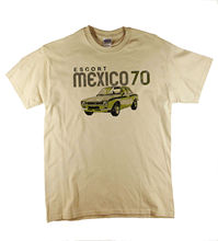 Mk1 Ford Escort Mexico Classic Car RS Natural T-Shirt Ideal Gift  Harajuku Tops t shirt Fashion Unique free shipping