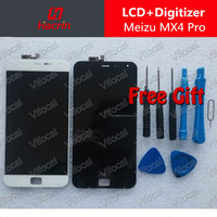Meizu MX4 Pro Lcd Display Touch Screen 100 Original MTK6595 2560x1536 2K Digitizer Assembly Replacement Accessories