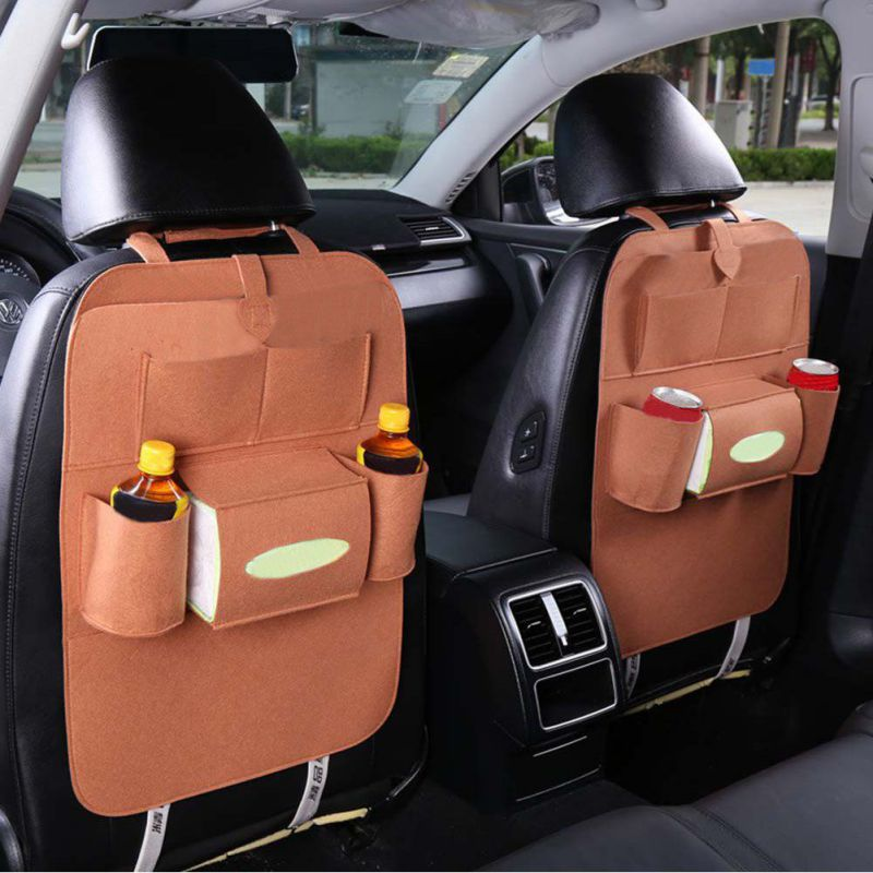 New Arrival Drink Food Multifunction Storage Bags Car Use Seat Back Organizer Storage Bag Non-Woven Fabric Eco-Friend