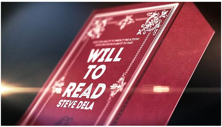 Will To Read By Steve Dela Magic Tricks