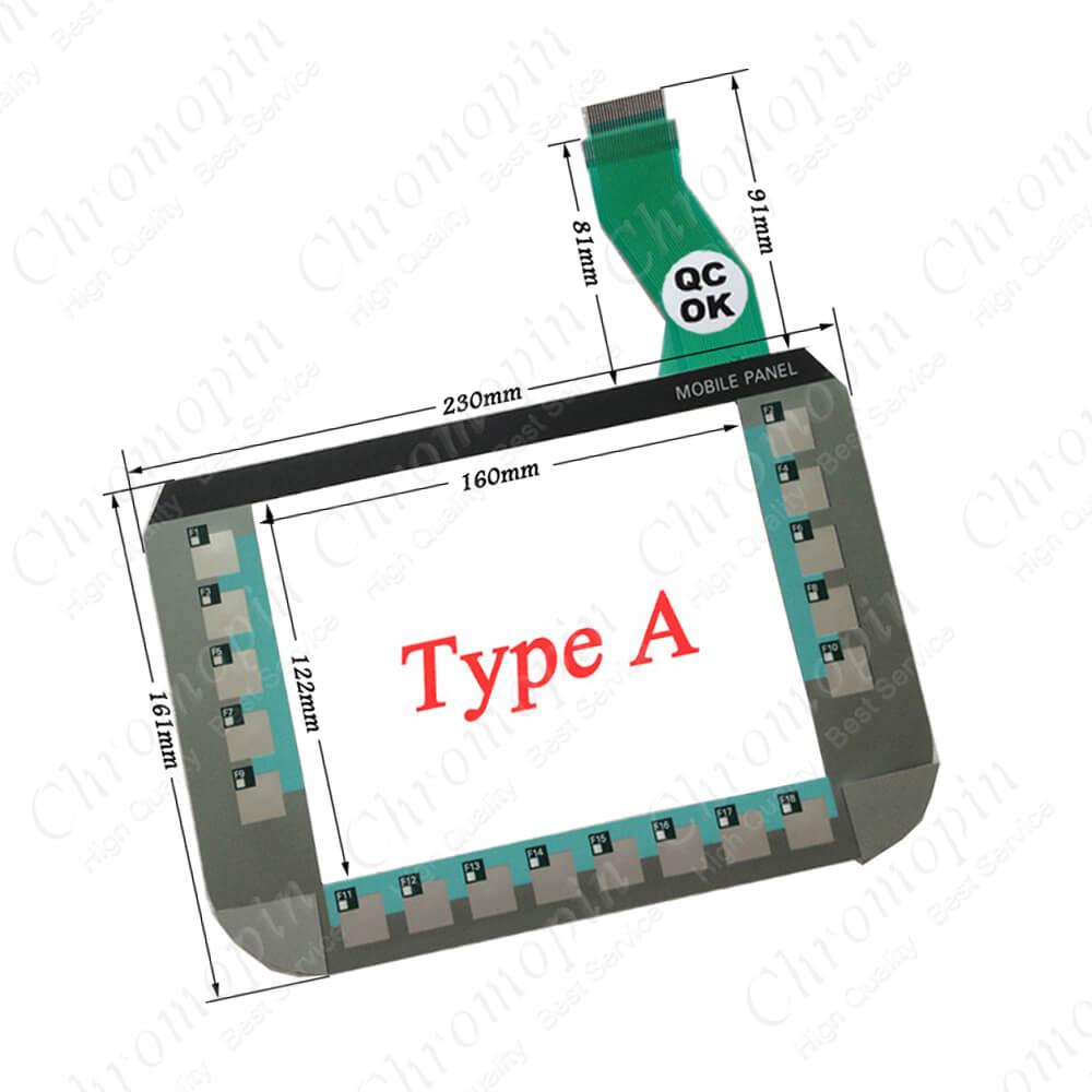 keyboard for 201DB005A 6AV6645-0DE01-0AX0