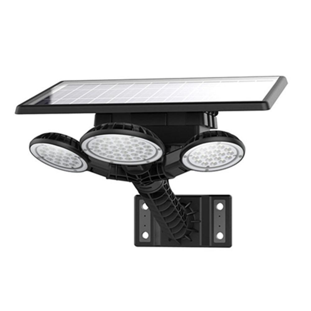 Nouveau haute qualité 75 LED s solaire lampadaire extérieur étanche IP65 télécommande calendrier variateur LED applique murale lampe de jardin