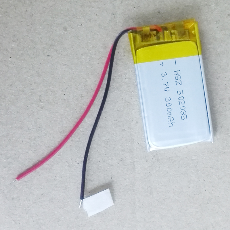 10pcs/lot Polymer <font><b>battery</b></font> 500 mah <font><b>3.7</b></font> <font><b>V</b></font> 502035 smart home MP3 speakers Li-ion <font><b>battery</b></font> for dvr,GPS,mp3,mp4,cell phone,speaker image