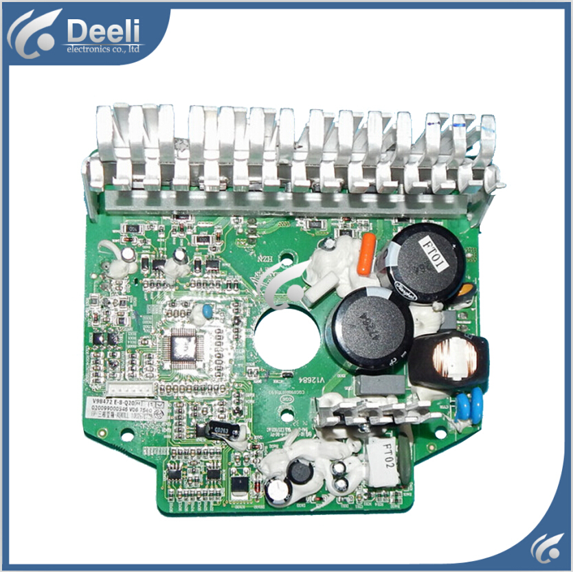 95% NEW used for Haier drum washing machine frequency board 0024000133C 020099000546 board new for haier washing machine drum door hinge 0020102698