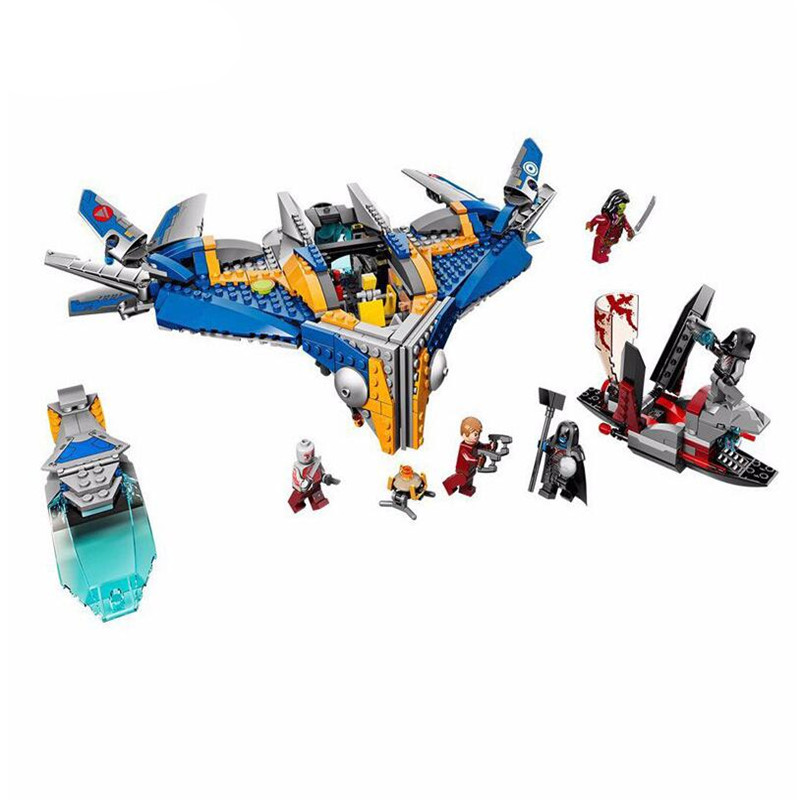 10251 MARVEL GUARDIANS OF THE GALAXY Spaceship Rescue DIY Educational Building Blocks Toys Bricks legoingly 76022