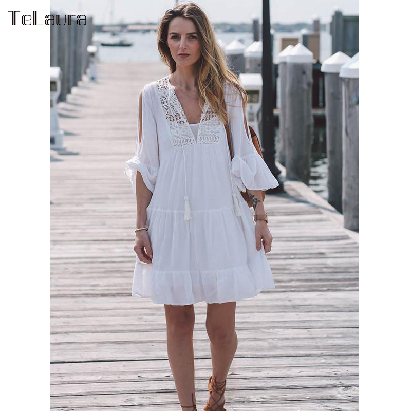 b8b494411aaf8 Cheap Cover-Ups, Buy Directly from China Suppliers:2019 Beach Cover Up Lace