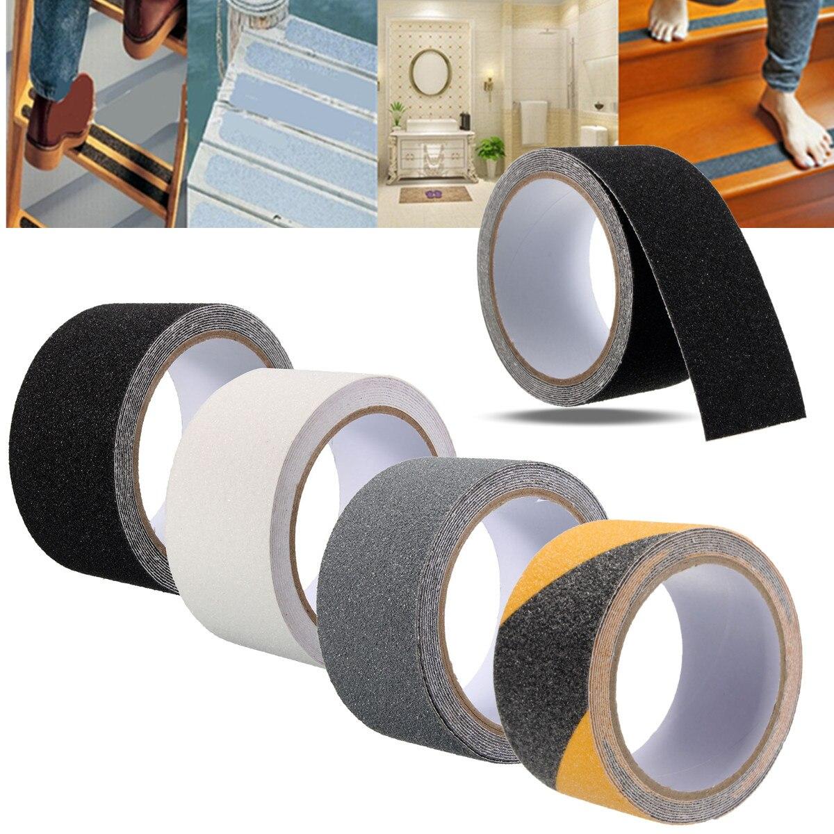 Cosmos Pack of 8 Anti Slip Non Skid Rug Gripper Tape Pads Black Color CM