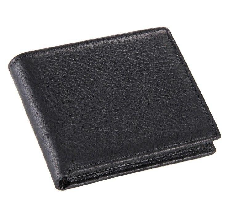 8062a Классическая Винтаж Стиль бумажник для businees человек 100% натуральная кожа зажим для денег ...