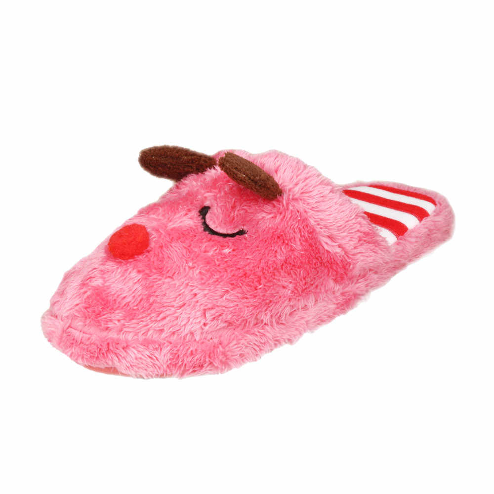 ebe4776fa ... Sleeper #5002 Women Soft Warm Indoor Bowknot Cotton Slippers Home Anti-slip  Shoes for ...