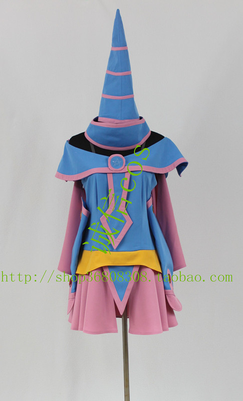 2016 Yu-gi-oh! Dark Magician Girl Cosplay Kostuum