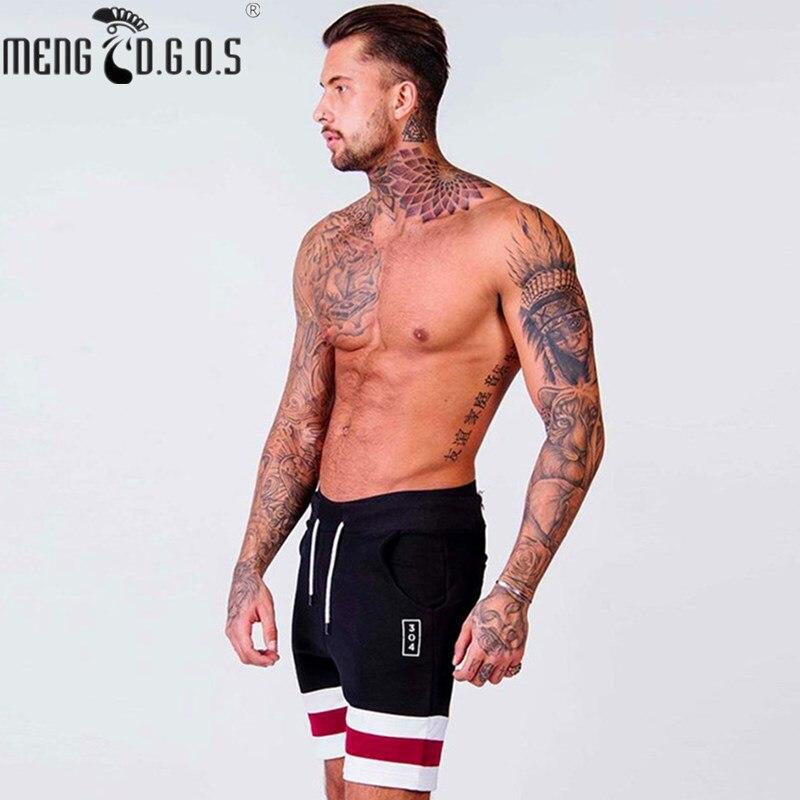 Muscle brand zomer herenmode nieuwe katoenen shorts 2018 heren - Herenkleding