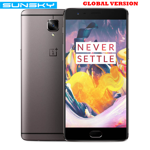 Original OnePlus 3T A3003 Snapdragon 821 Quad Core 5.5 Inch Smartphone 6GB RAM 64GB/128GB ROM Touch ID 16.0MP NFC Mobile Phone