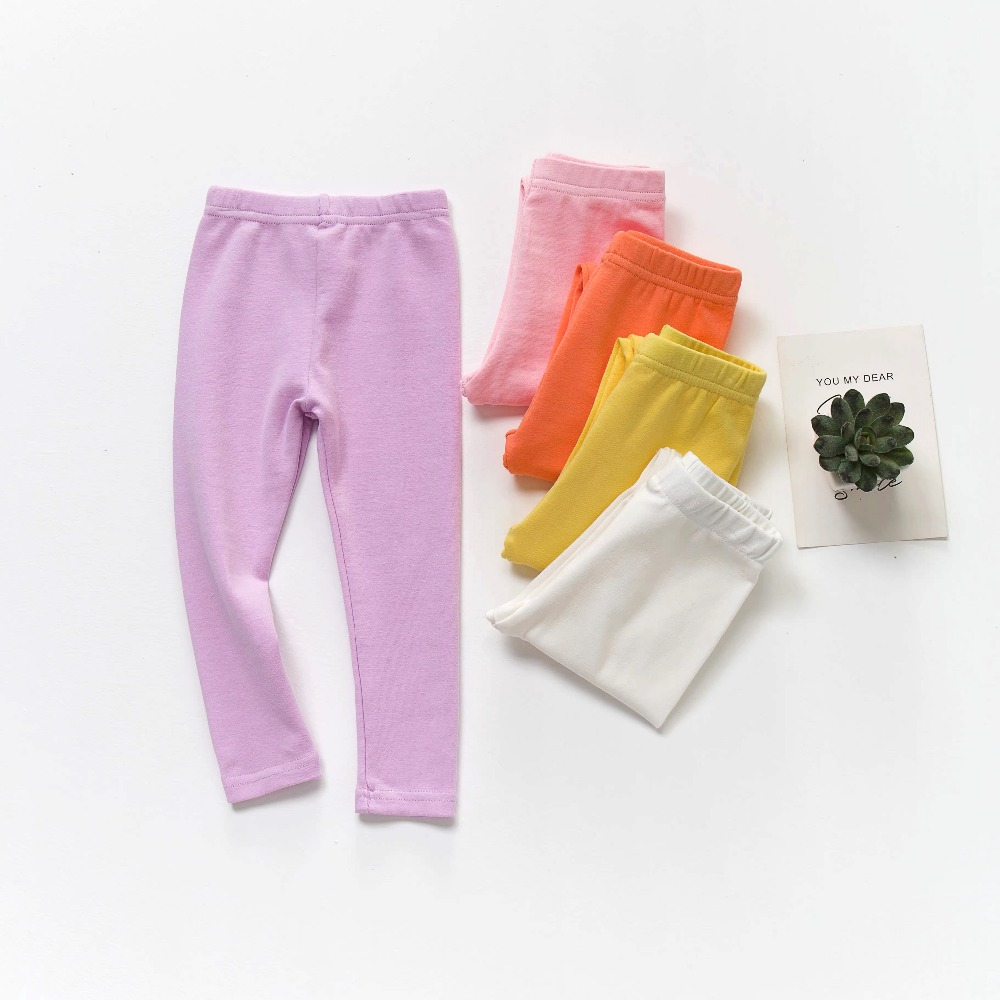 Auro Mesa Baby and Toddler Girls 3-Pack Leggings Pants Bowknot Baby Trousers