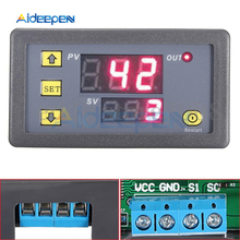 AC 110V 220V Cycle Timer Delay Relay Temperature Controller Digital Thermometer Regulator Thermostat Controller Switch Sensor