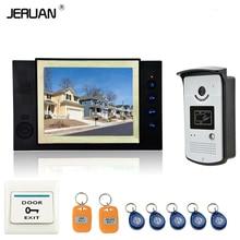 JERUAN Home Security 8 «TFT Vidéo Porte Téléphone Sonnette Portier Système Vidéo Enregistrement photo prise