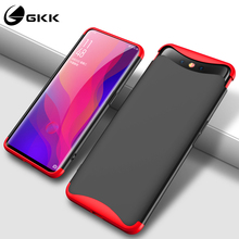 GKK Lifting Upper Case for OPPO Find X Case 360 Full Protection 3 in 1 Shockproof Hard Cover for find x Case Cover Fundas Black 360 full protection case for oppo find x case luxury hard pc shockproof back cover case for oppo find x cases