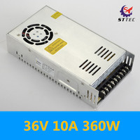 High Quality Monitoring Equipment AC 110V 220V To DC 36V 360W 10A Transformer Universal Regulated Switching