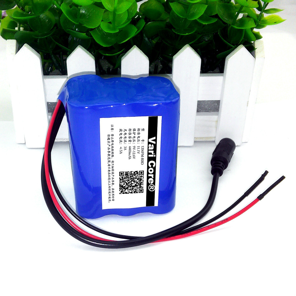 Protect 12 V 4.4 Ah 4400mAh 18650 Rechargeable battery + 12.6 V PCB Lithium Battery pack Protection Board + 12.6V 1A Charger