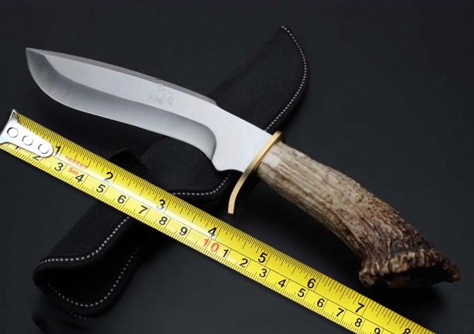 Hot Sale Outdoor font b Tactical b font Fixed Blade font b Knife b font 5Cr15Mov