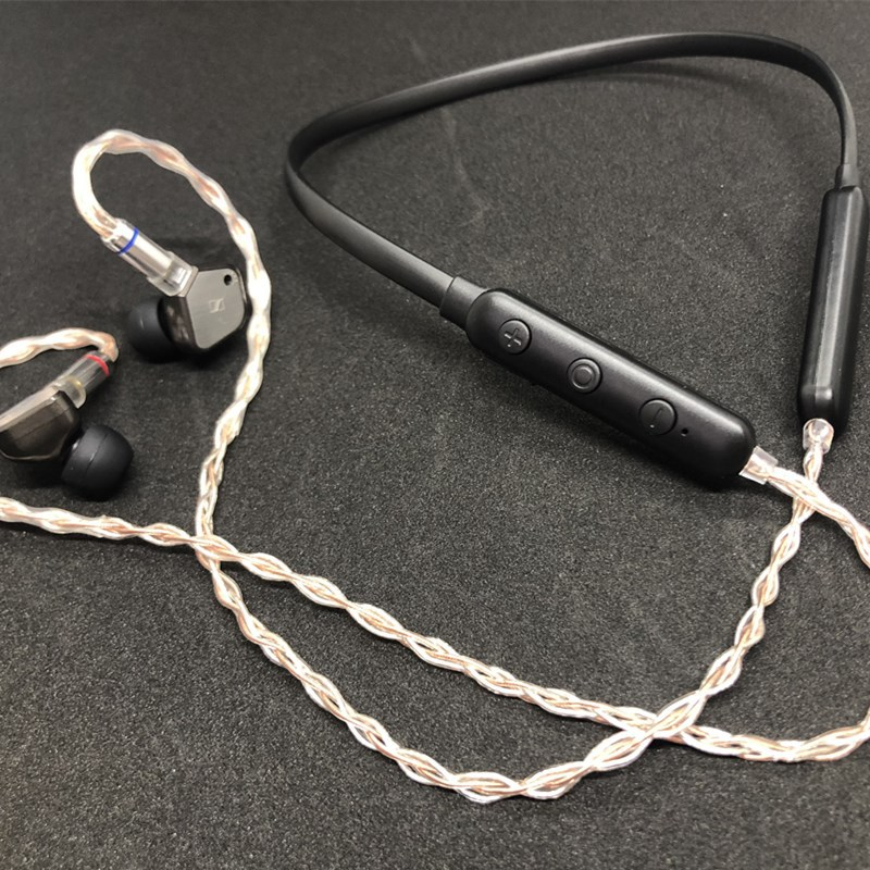 Adaptateur sans fil Bluetooth PIZEN pour câble plaqué argent APTX AAC 2PIN MMCX OCC pour KZ/Shure/Westone UE TF10 W4R IE80