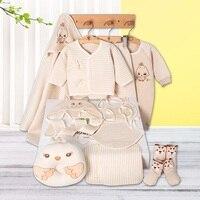 Free Shipping Thick Newborn Baby Gift Set Infant Clothing Set Baby Boys Girls High Quality Clothing