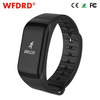 WFDRD Fitness Tracker Wristband Heart Rate Monitor Smart Band F1 Smartband Blood Pressure With Pedometer Bracelet