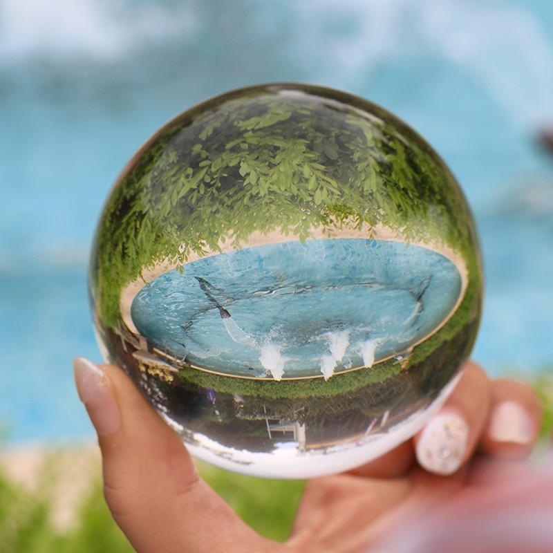 Crystal Healing Glass Ball Sphere 3