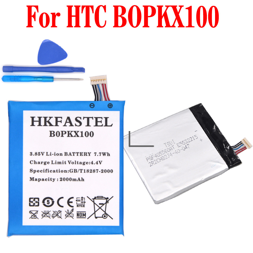 HKFASTEL B0PKX100 BOPKX100 Mobile phone Battery For HTC Desire 626 D626W D626T 626G 626S D262W D262D A32 batteries + T