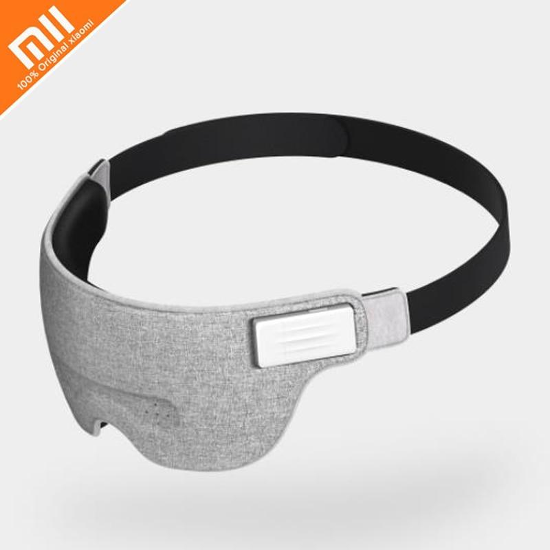e6f8fd8d18 US $49.66 21% OFF|Original xiaomi mijia air brain wave help sleep eye mask  work lunch break travel nap Bluetooth connection smart detection sleep-in  ...