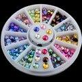 Красочная 3D ногтей стразы стикер шпиль дизайн ногтей инструменты блеск для ювелирные украшения новых прибыть маникюр