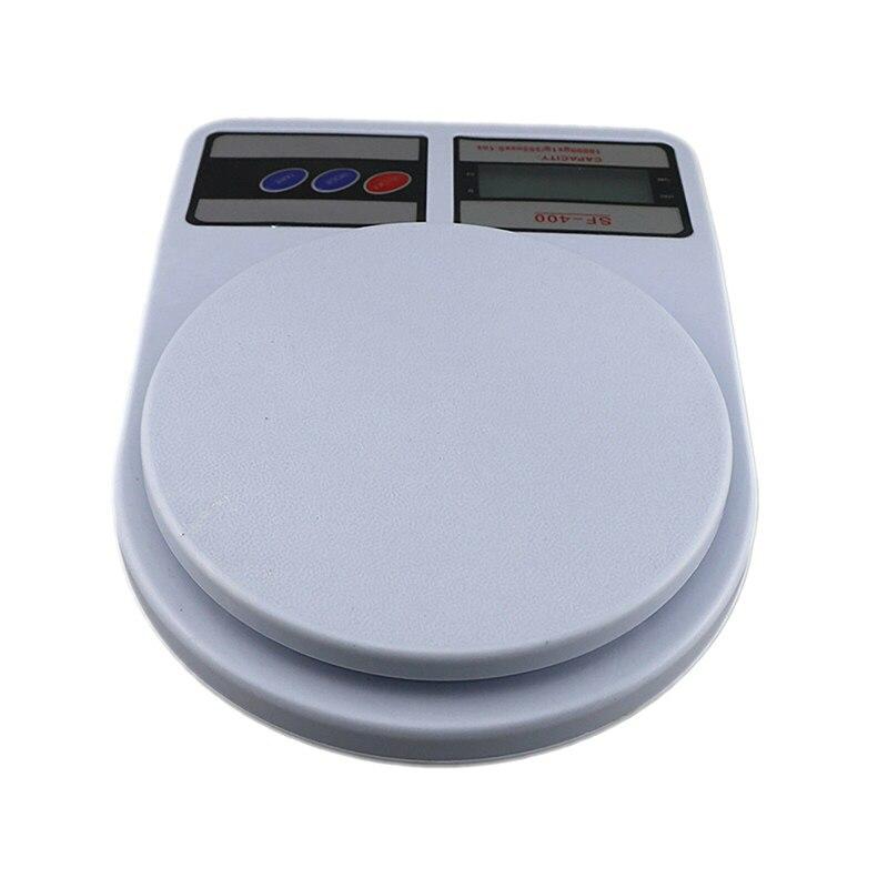 Портативные цифровые весы 10 кг 1 г, электронные весы с ЖК-дисплеем, кухонные весы, почтовые пищевые весы, измерительные весы, весы-3