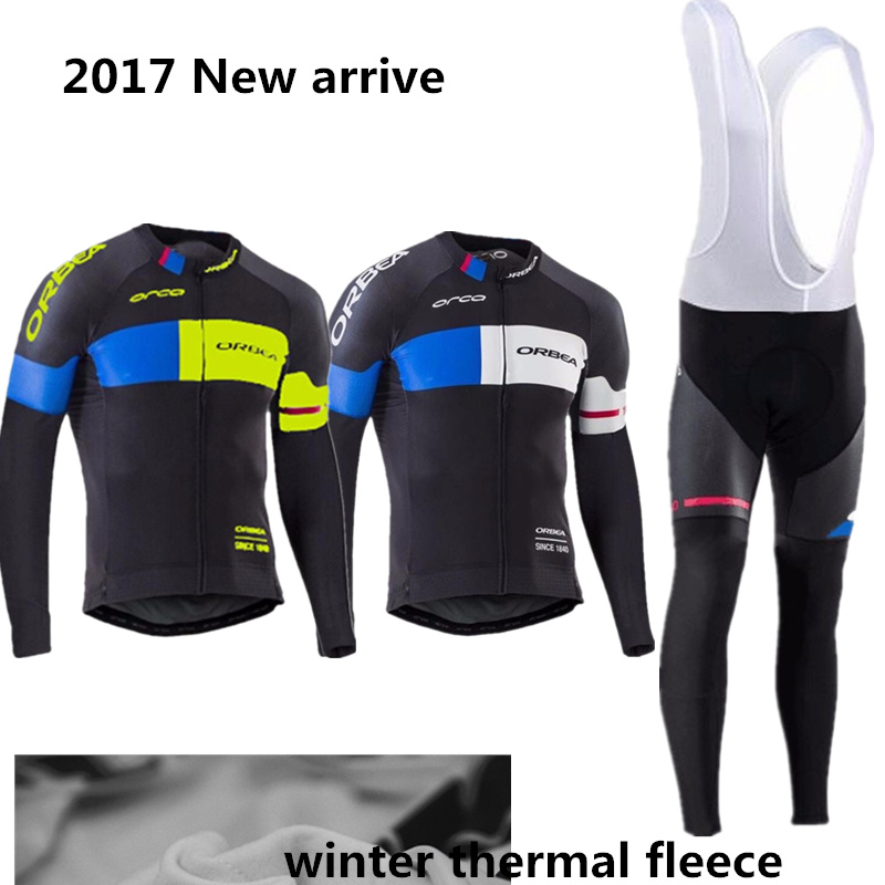 ФОТО New arrive cycling jersey 2017 ORBEA Winter thermal fleece Cycling clothing manga larga hombres Ropa ciclismomaillot ciclismo