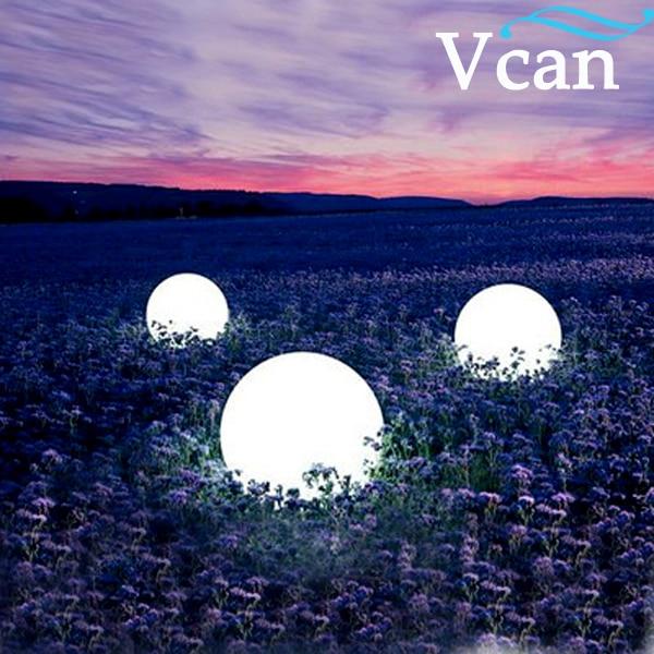 ФОТО 40cm LED Ball 16colours change rechargeable waterproof ip67 Christmas Light VC-B400