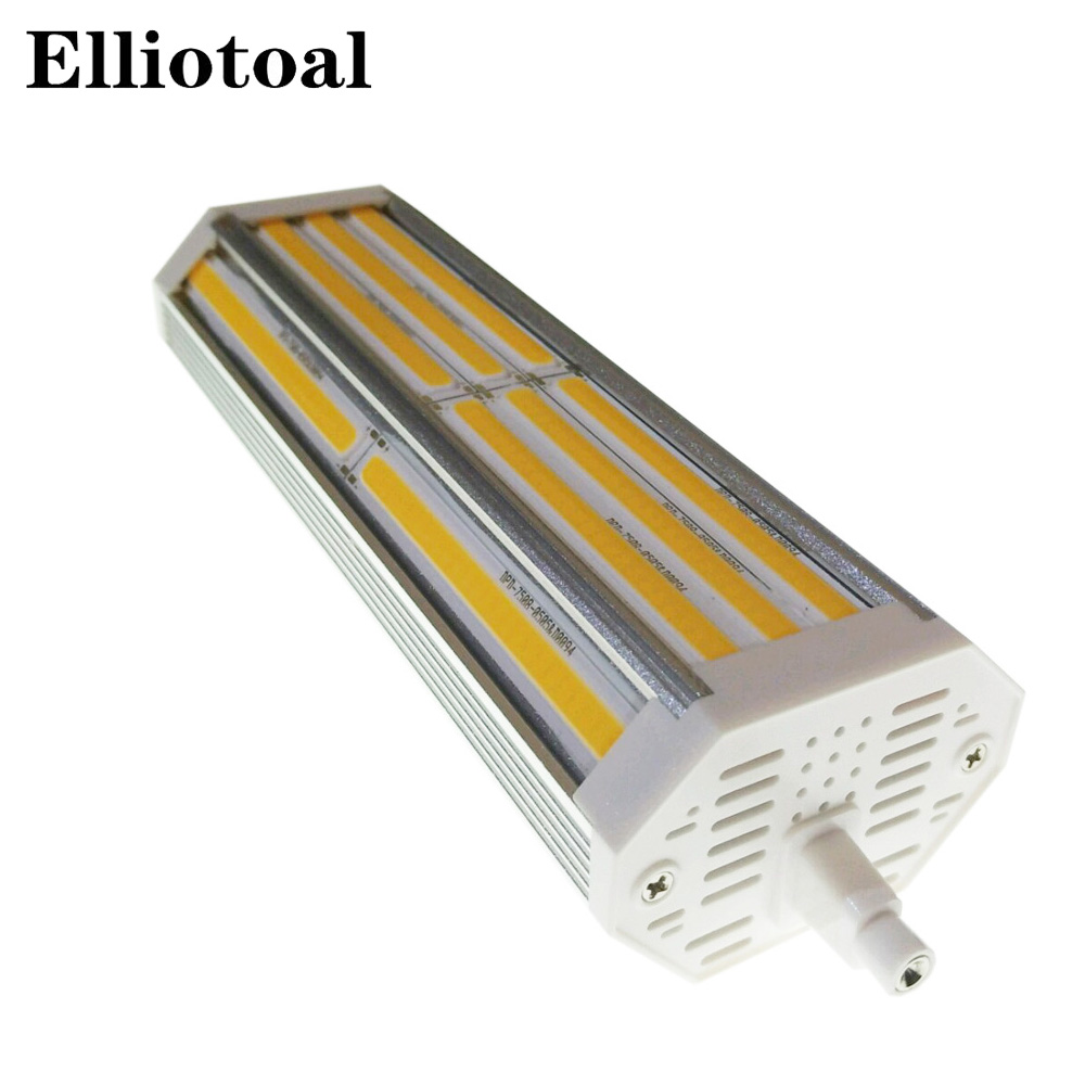 R7s Led Dimmbar High Power 50w Led R7s Light Dimmable 189mm R7s Lamp With Colling