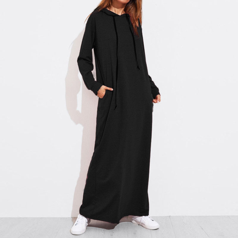 Rapture Women Clothing Maxi Long Embroidery Dress Abaya Kaftan Caftan Muslim Islamic Moroccan Dress Casual Sweatshirt Hoodies New Varieties Are Introduced One After Another Women's Clothing