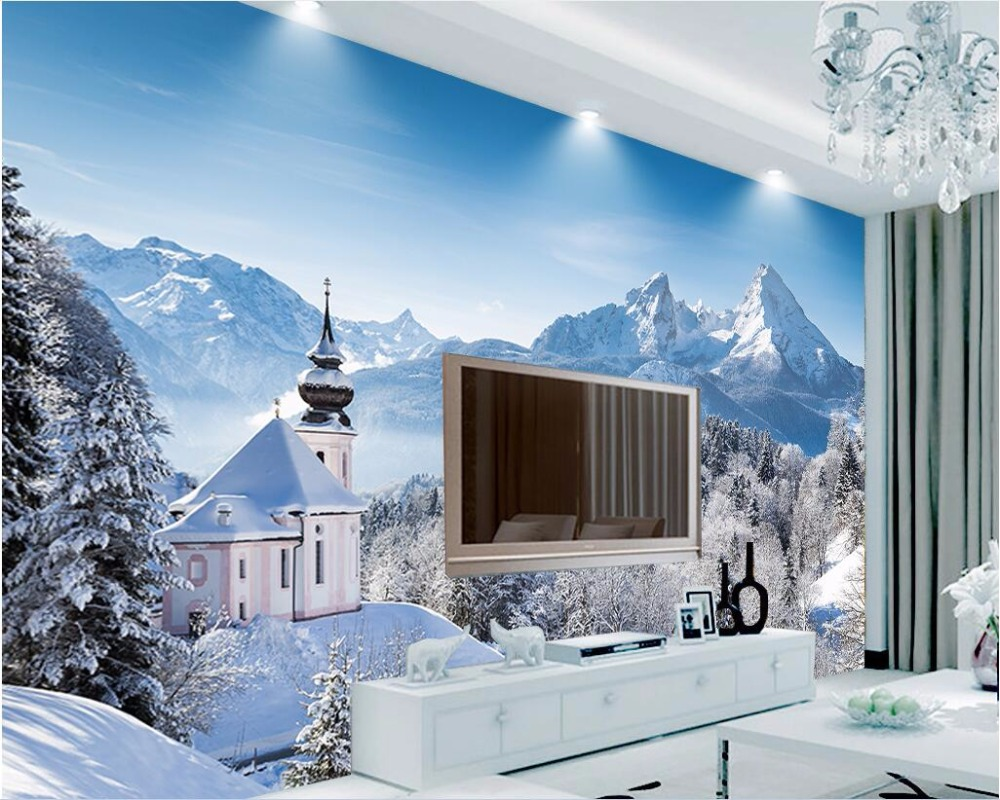 3d wall murals wallpaper for living room walls 3 d photo wallpaper 3d wall murals wallpaper for living room walls 3 d photo wallpaper winter snow forest home decor custom mural painting in wallpapers from home improvement amipublicfo Gallery