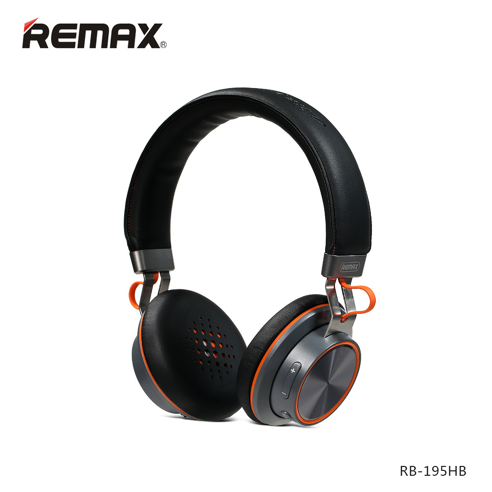ФОТО REMAX  Bluetooth headphone core volume 195HB Bluetooth 4.1 surround stereo Professional wireless headset heavy bass music