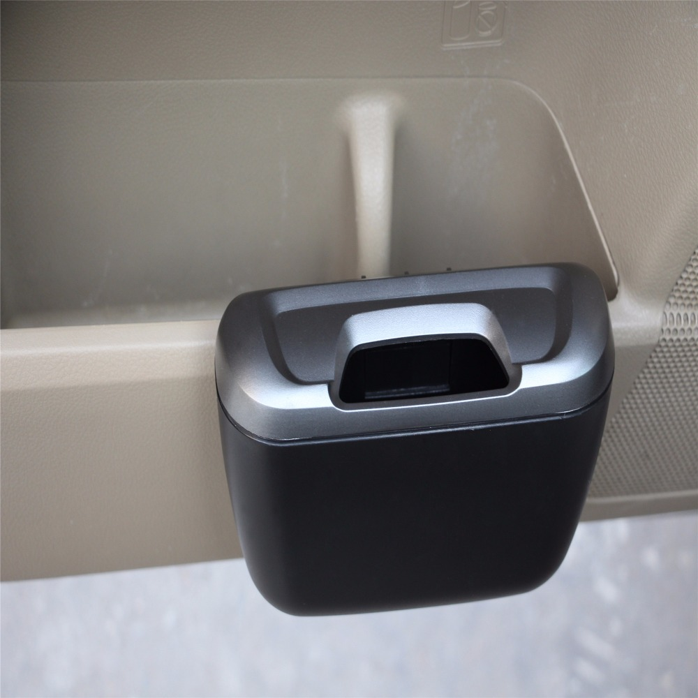 Mini Car Trash Can Auto Vehicle Garbage Dust Case Holder Box Bin Trash For <font><b>Hyundai</b></font> <font><b>HB20</b></font> Coupe Entourage Equus Excel Genesis Pony image