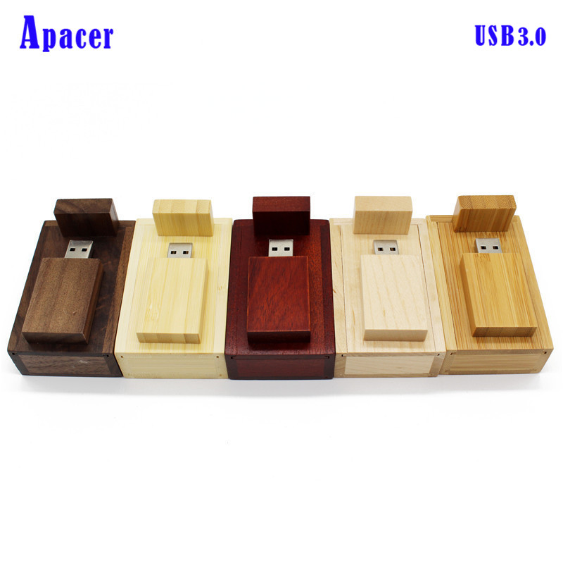 Apacer usb3.0 wooden LOGO usb flash drive 4gb 8gb 16gb Pendrive 32gb 64gb usb stick usb3 ...